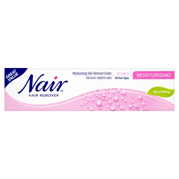 Nair Hair Remover Moisturising Hair Removal Cream With Baby Oil